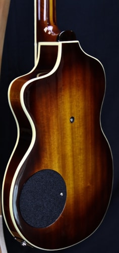 Rick Turner Model 1 Custom Flamed Redwood