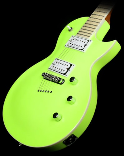 KRAMER  Used Kramer Assault 220 Plus Electric Guitar Flourescent Green