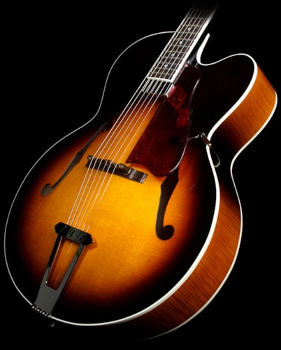 Gibson Custom Shop Used Gibson Custom Solid Formed 17 Inch Venetian Cutaway Archtop Guitar Cremona Brown