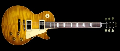 Gibson Custom Shop Used Gibson Custom Shop True Historic '59 Les Paul Reissue Electric Guitar Lemonburst