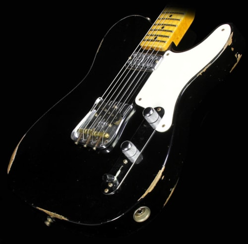 Fender Custom Shop Limited Edition Relic Caballo Tono Telecaster Electric Guitar Black