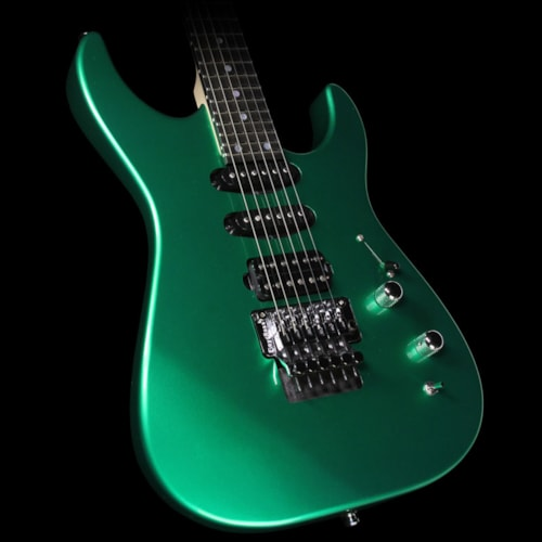 McNaught Used 2015 McNaught DJ Model Electric Guitar Metallic Green