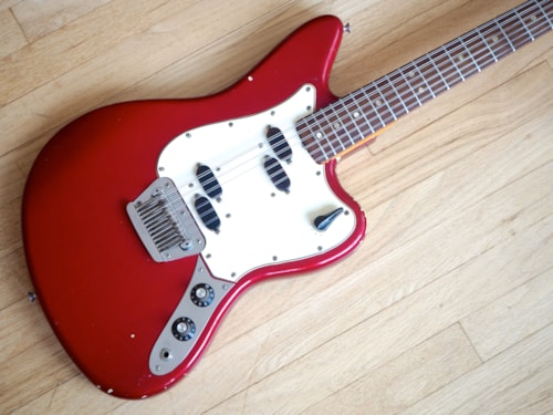 1966 Fender® Electric XII Vintage 12 String Guitar Candy Apple Red