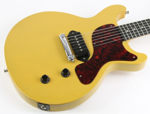 2011 gibson les paul junior double cutaway tv yellow guitars electric solid body thunder. Black Bedroom Furniture Sets. Home Design Ideas