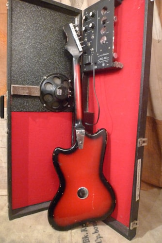 1967 Silvertone 1452 Amp-In-Case