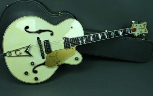 2006 Gretsch Gretsch Custom Shop 1955 White Falcon Hollowbody Guitar Step
