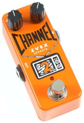 2016 ZVEX CHANNEL 2 DISTORTION/OVERDRIVE PEDAL