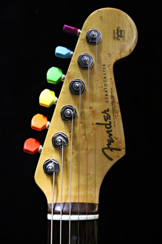 2012 Philippe Dubreuille Fender® Stratocaster® Dark Side Of The Moon