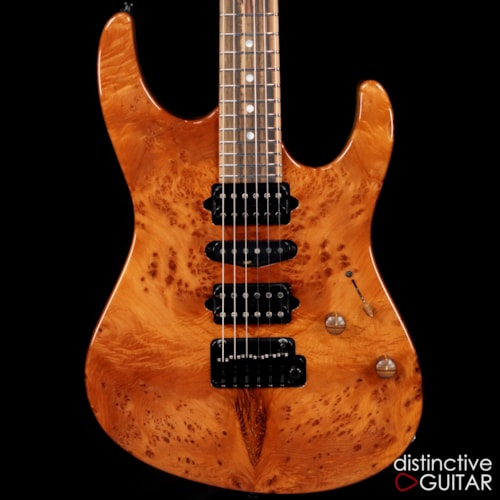 Suhr Custom Modern Burl Redwood
