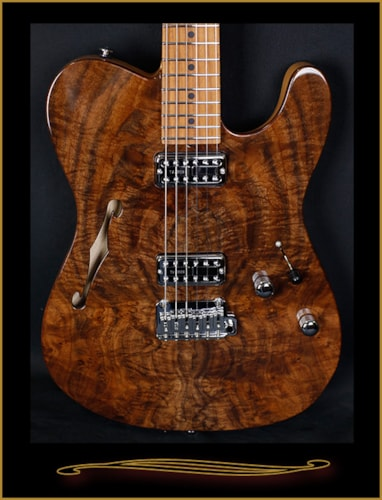 2016 Suhr Classic T Chambered with Walnut Top