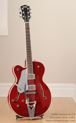 1999 Gretsch 6119 Tennesee Rose