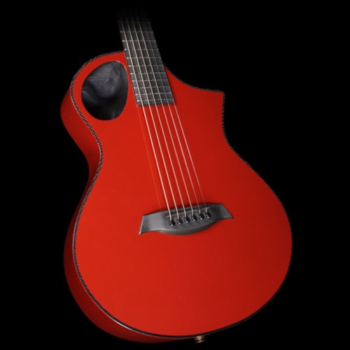 Composite Acoustics The Cargo Acoustic-Electric Guitar Solid Red