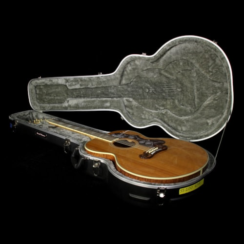 Gibson Used 2004 Gibson Limited Edition SJ-200 Custom AAA Koa Acoustic/Electric Guitar Natural