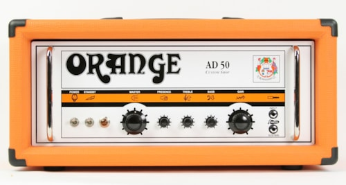 2012 Orange AD-50 Head Custom Shop