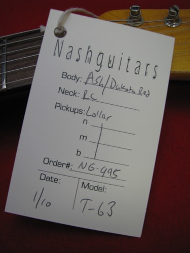 1963 Bill Nash  Telecaster®