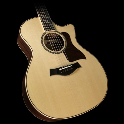 Taylor 814ce Indian Rosewood Adirondack Spruce Bracing Grand Auditorium Acoustic/Electric Guitar Natural