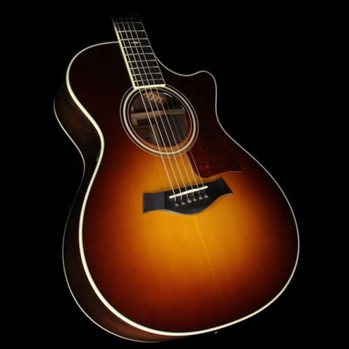 Taylor Used 2014 Taylor 712ce Grand Concert Acoustic/Electric Guitar Tobacco Sunburst