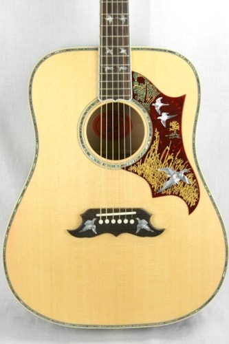 Gibson Custom Shop Doves in Flight Quilt Acoustic Flat Top!
