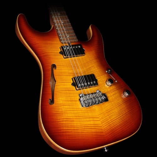 Suhr Used 2007 Suhr Archtop Standard Electric Guitar Aged Cherry Burst