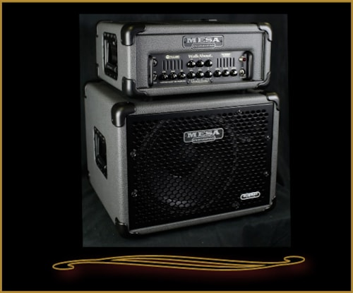 2016 Mesa Boogie Walkabout Head and Subway 1x12 Cabinet