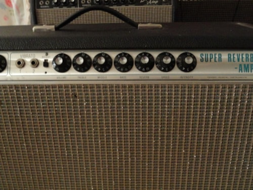 1969 Fender® 1969 drip edge Super Reverb®