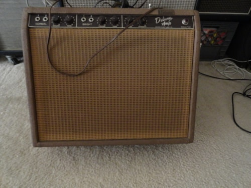 1962 Fender® 1962 brown deluxe