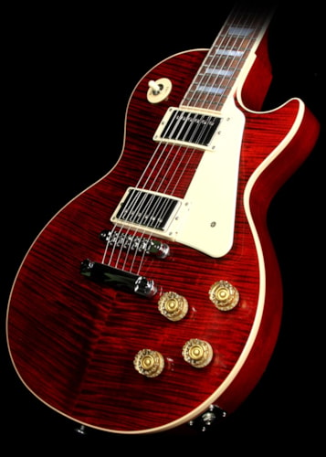 Gibson Used 2015 Gibson Les Paul Standard Electric Guitar Wine Red Candy