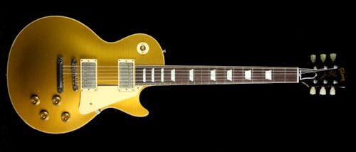 Gibson Custom Shop Used 2015 Gibson Custom Shop Murphy Aged True Historic 1957 Les Paul Reissue Electric Guitar Aged Vintage Antique Gold