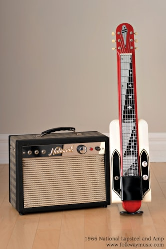 1966 National Dynamic Lap Steel and Amp