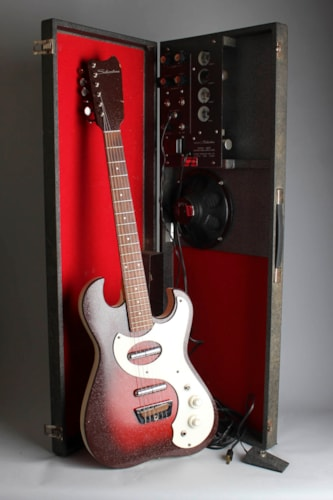 1964 Danelectro Silvertone Model 1457 Amp-In-Case