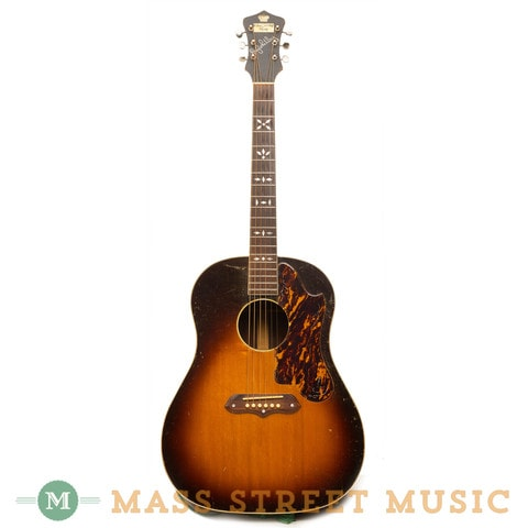 "1938 Gibson Ray Whitley ""Recording King"