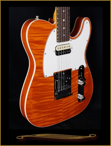 2016 Fender® Custom Shop Flame Maple Top American Custom Telecaster®, Rosewood FB