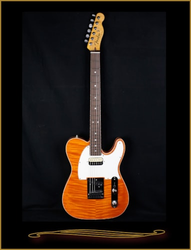 Fender® Custom Shop Flame Maple Top American Custom Telecaster®, Rosewood FB