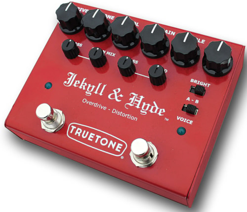 2017 TRUETONE V3 JEKYLL AND HYDE OVERDRIVE AND DISTORTION PEDAL