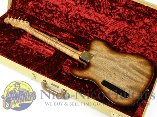 2015 Fender® Custom Shop Masterbuilt Ebony Top Telecaster® NOS by Dale Wilson