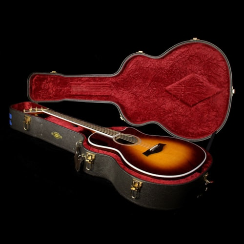 Taylor Used 2006 Taylor 814ce Grand Auditorium Acoustic-Electric Guitar Tobacco Sunburst