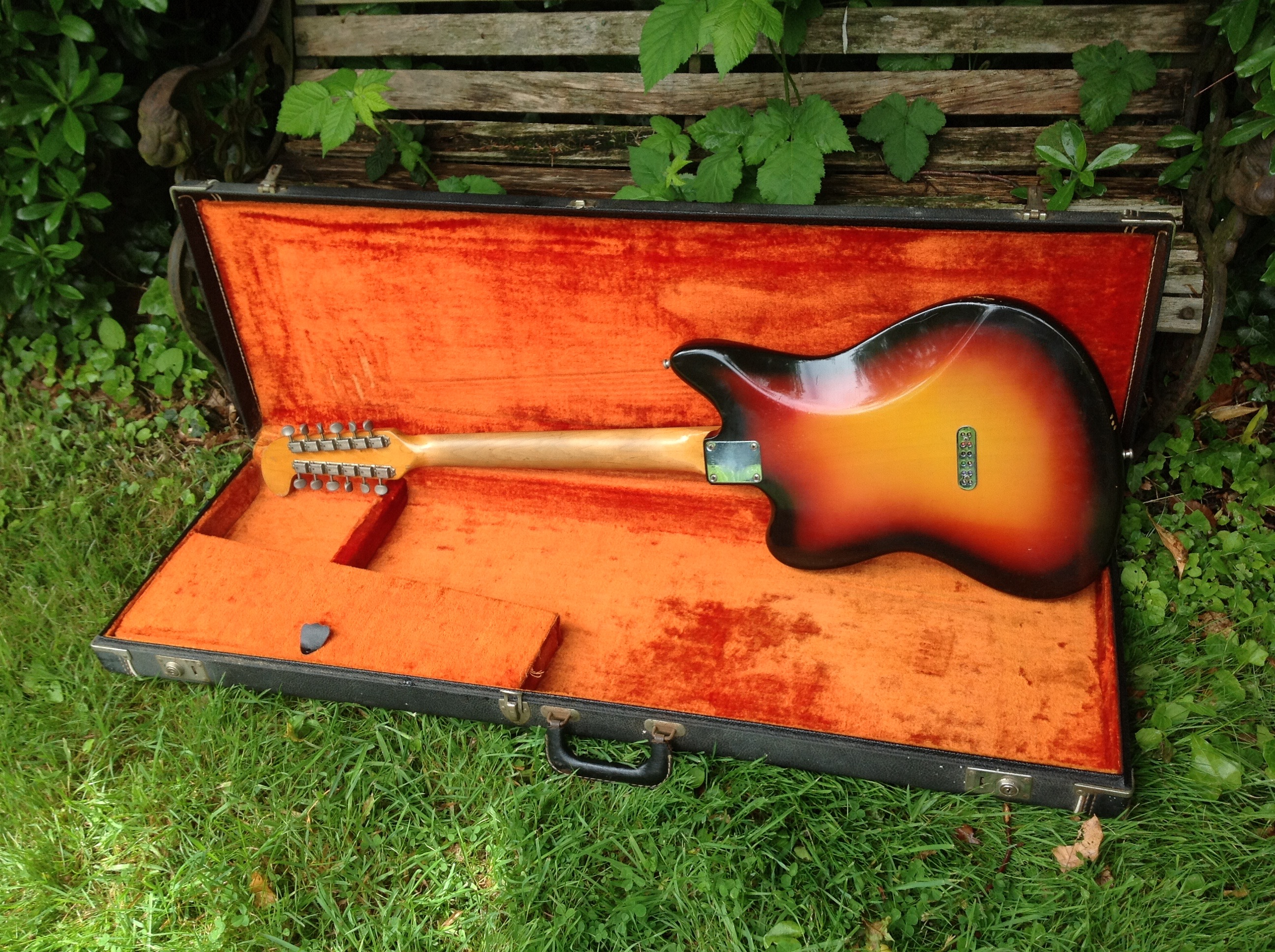 1965 fender electric xii sunburst u003e guitars electric solid body