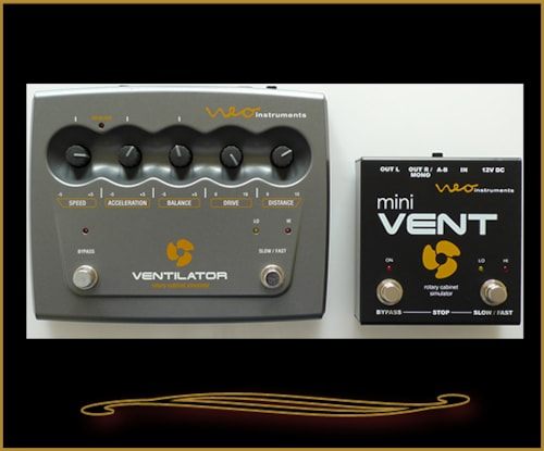 Neo Instruments mini VENT Rotary Cabinet Simulator for Guitar