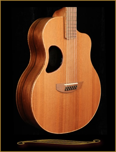 2016 McPherson MG-4.5XP 12 String in Madagascar Rosewood with Redwood Top