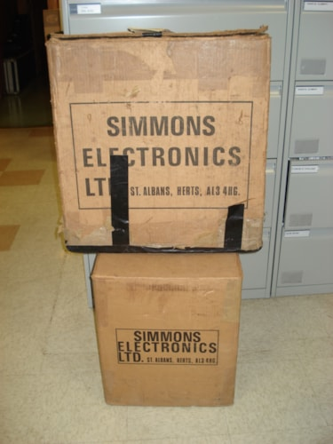 "~1984 SIMMONS w/pads  SDS-V ""Five"