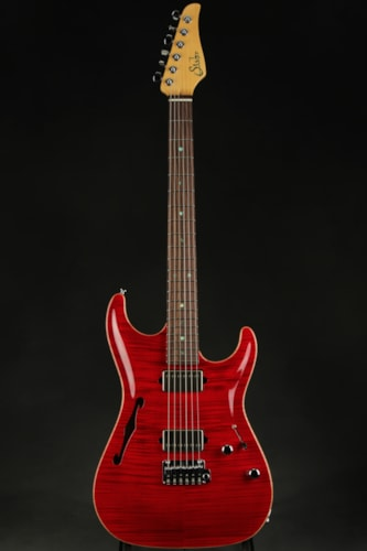 Suhr Standard Arch Top - Trans Red