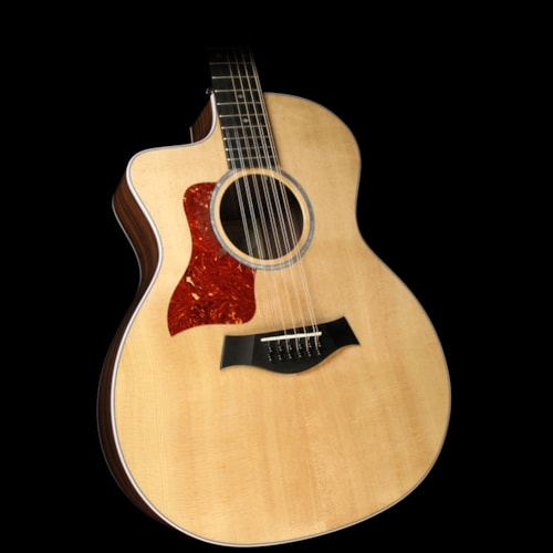 Taylor 254ce-DLX 12-String Grand Auditorium Left-Handed Acoustic-Electric Guitar Natural