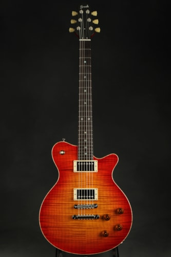 Don Grosh Set Neck Custom - Cherry Burst