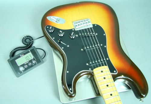 1979 Fender® Stratocaster® Vintage Electric Guitar Sunburst Hardtail USA w
