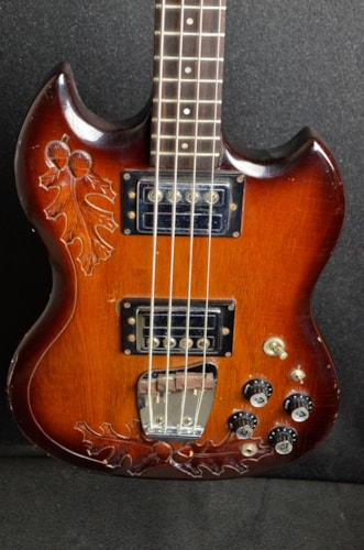 1973 Ampeg JSII- Oak leaf and Acorn motif