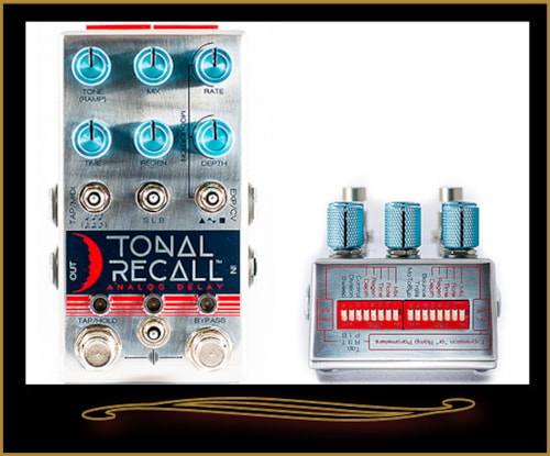 Chase Bliss Tonal Recall Analog Delay Pedal