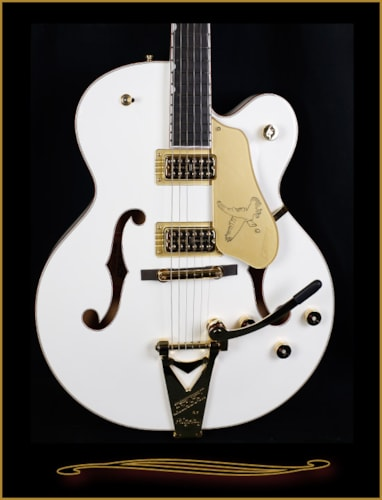 Gretsch® G6136T-WHT Players Edition White Falcon with Bigsby