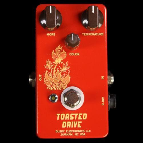 Dusky Electronics Toasted Drive Guitar Effects Pedal