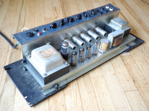 1964 Vox Vox AC30/6 Vintage Tube Amp, Gray Panel JMI UK AC30