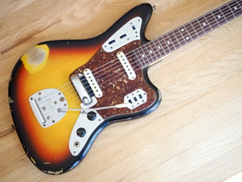 2007 Fender® Custom Shop '62 Jaguar® Relic® One Off Vintage RI Guitar